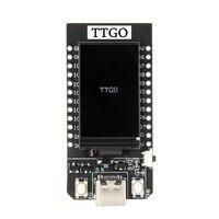 Ttgo t display esp32 wifi e placa de desenvolvimento do módulo bluetooth para arduino 1.14 Polegada lcd|Acessórios para baterias| |  -