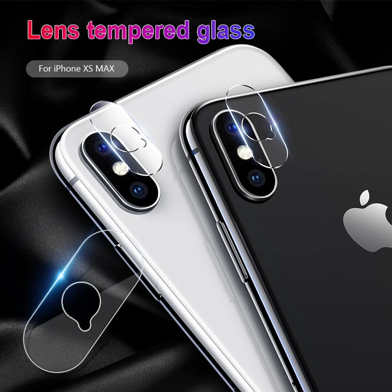 Tempered Glass Back Camera Lens For Iphone XR XS Max X 7 Plus 8 Plus Camera Protector Soft Films For IPhone Xs Max Xr X 7 8 Plus