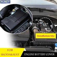 Couvercle d'électrode de batterie de moteur de voiture, capuchon antirouille, pour Skoda Karoq kodiaqsuperb Octavia Mk3 SEAT Ateca Leon Mk3