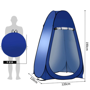 Fully Automatic Open Changing Tent Outdoor Shower Bathing tent Fishing Swimming Changing toilet tent pop up tent Solar Bath Bag outdoor bathing tent pop up privacy tent instant portable shower tent camp toilet rain shelter for camping and beach