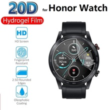2pcs Hydrogel Protective Film for Honor Watch ES GS Pro Dream Magic 2 46mm 42mm (Not Glass) Screen Protector Protection Foil