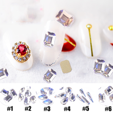 20 шт дизайн ногтей кристально чистый и прозрачный ab лак небеса