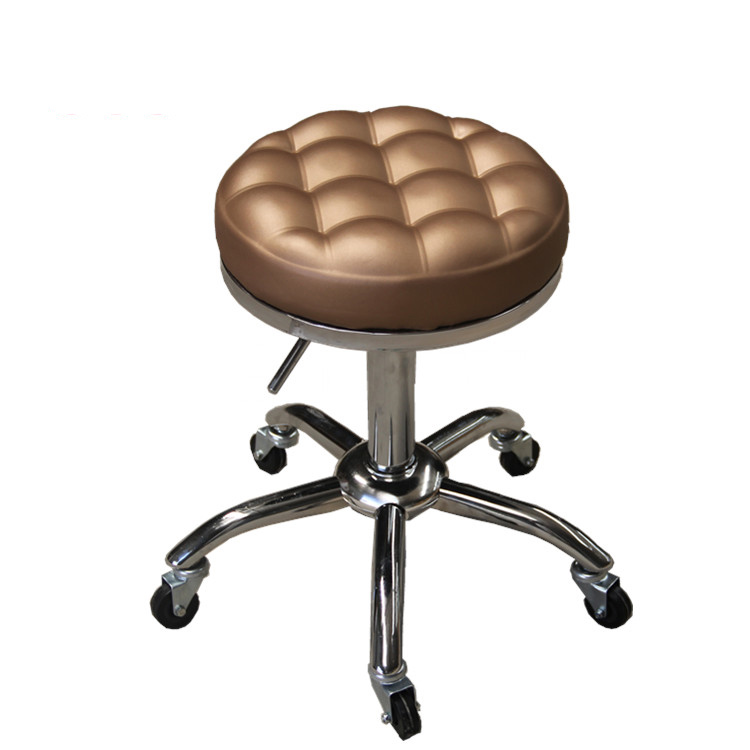 With Backrest Beauty Chair Beauty Stool Work Bench Hairdressing Stool Makeup Stool Lift Stool