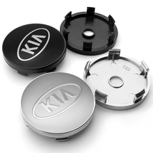 Emblem-Cover Sticker Center-Hub-Cap Car-Wheel 56/60mm Sorento 4pcs for KIA K2 K3 K5 Sportage
