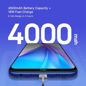 Image 4 - Global Version Xiaomi Redmi Note 8T 4GB 128GB 18W Quick Charge Smartphone Snapdragon 665 48MP Camera 4000mAh NFC Smartphone 6.3
