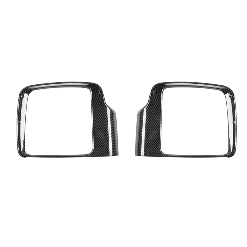 Rearview Mirror Rain Eyebrow Frame Cover Trim for Suzuki Jimny 2019 2020