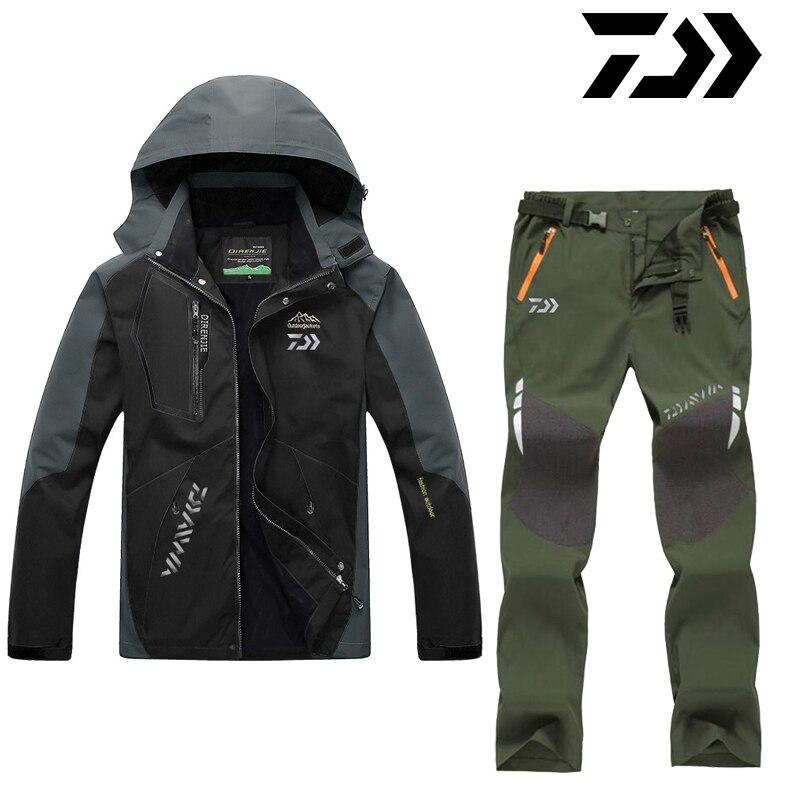 rápida terno de pesca masculino protetor solar respirável jaqueta de pesca