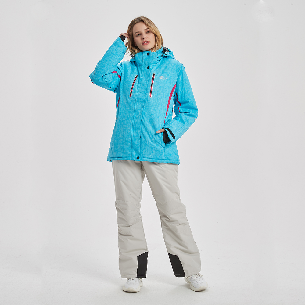 Women Ski Suit Brands High Quality Set Waterproof Warm -30 Degree Skiing Jacket And Pants Winter Outdoor Snowboarding Suits