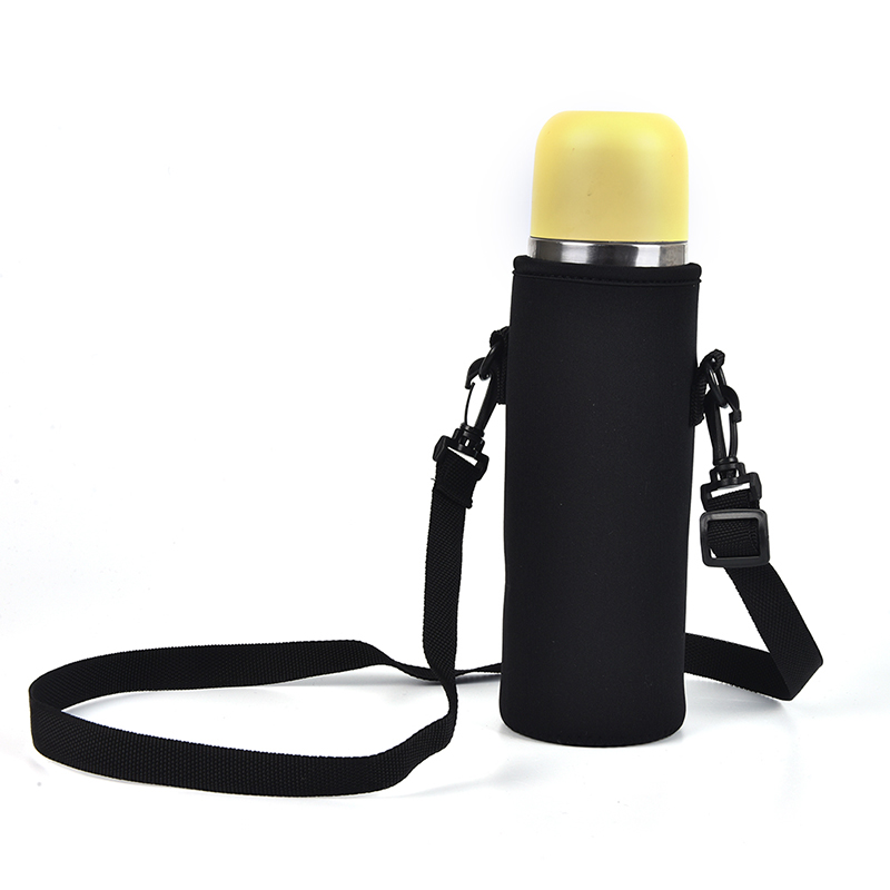 Neoprene Water Bottle Carrier Insulated Cup Cover Bag Holder Pouch with StrODUS
