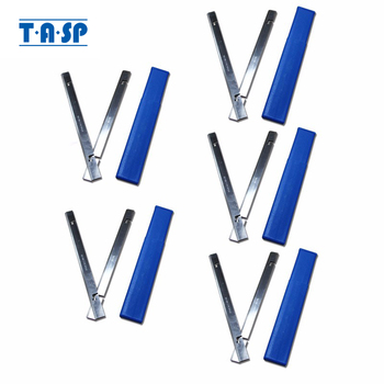 TASP 5 Pair 257mm HSS Wood Planer Blades 257x18.2x3.2mm For Thickness Planer MacAllister COD1500PT