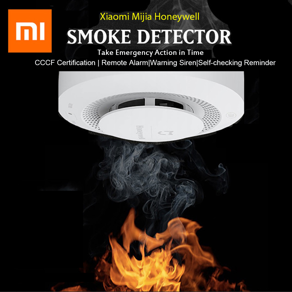 Image 3 - Xiaomi Mijia Honeywell Fire Alarm Smoke Sensor Gas Detector Work  With Multifunction Gateway 2 Smart Home Security APP ControlSmart  Remote Control