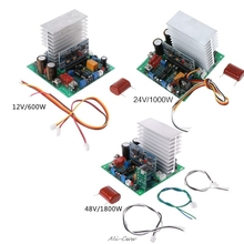 Pure Sine Wave Power Frequency Inverter Board 12/24/48V 600/1000/1800W Finished Boards For DIY aiyima 2000w pure sine wave inverter power board post sine wave amplifier board finished goods