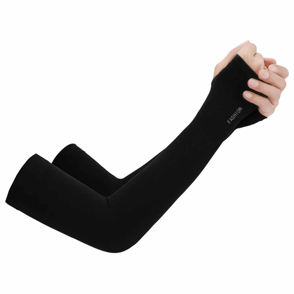 2 шт., теплые Рукава, спортивные рукава, защита от солнца, УФ, защита рук, охлаждающая грелка для бега, рыбалки, велоспорта, лыжного спорта
