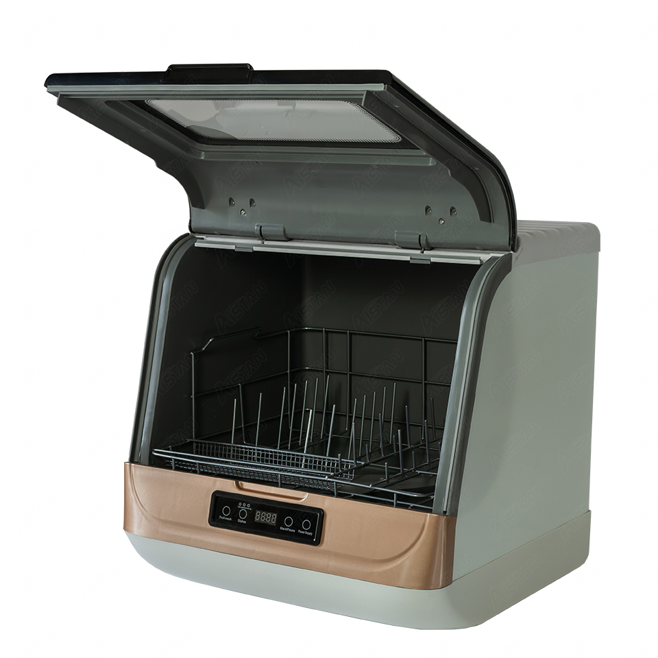 DWS-T05 автоматический домашний настольная посудомоечная машина бытовой Кухня столовые приборы посудомоечная машина с выдвижным ящиком комм...