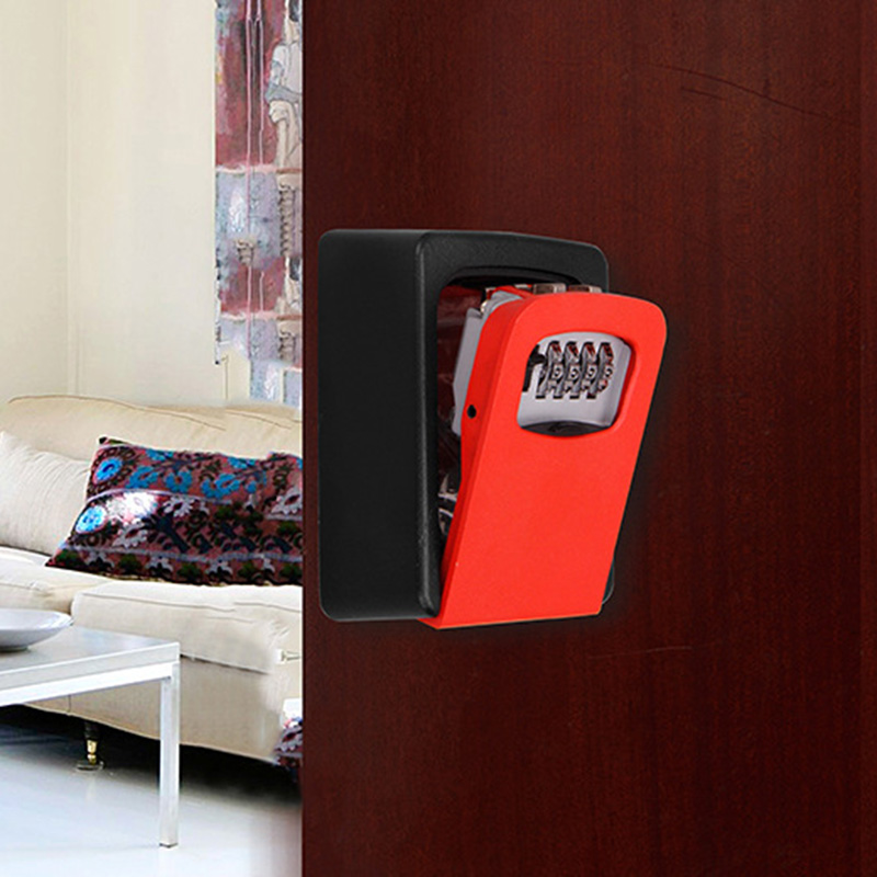 Password Key Box Wall Mounted Security Anti-theft Outdoor Key Safe Lock Storage Box FO Sale