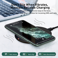 Baseus 15W Qi Wireless Charger for iPhone 12 11 Pro X XS MAX XR 8 Fast Charging for Airpods Pro Samsung S9 S10 S20 P20 P30 Pro