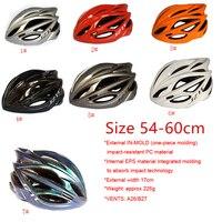 Capacete de segurança para bicicleta  mais novo capacete de ciclismo de montanha  capacete de molde integrado  pc + eps  capacete esportivo mtb  frete grátis