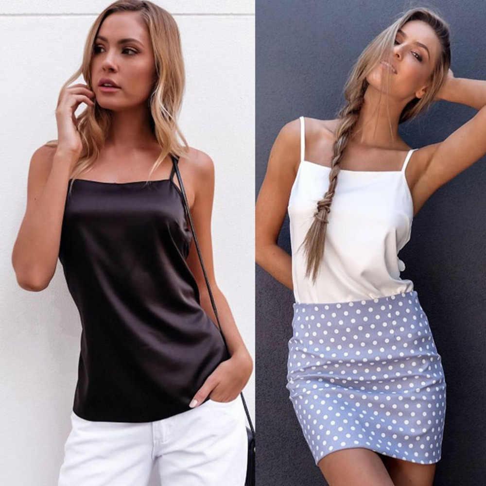 固体色のセクシーなバックノースリーブタンクファッショントップス女性女性ビーチウェアパーティーナイトクラブのために休暇快適なシャツ