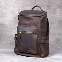 Вместительный рюкзак для мужчин и женщин винтажный дизайнерский