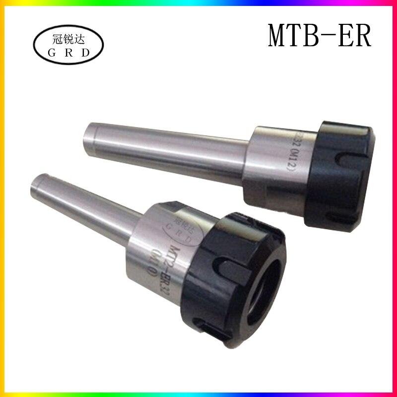 MTB2 ER32 MT2 Morse Taper shank Collet Chuck Milling toolholder CNC Back Pull