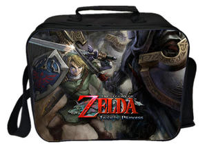 Lunch-Bag Shoulder-Bag Picnic Insulated Portable The of Zelda Link Legend Camping