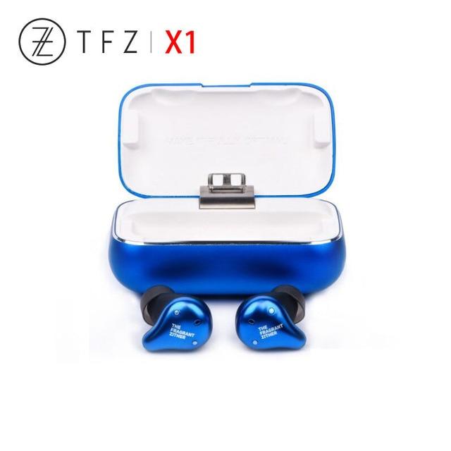 TFZ X1 אמיתי אלחוטי Bluetooth 5.0 אוזניות סטריאו מאוזן אבזור נהג עמיד למים מיני Tws Bluetooth אוזניות
