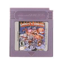 Для Nintendo GBC видеоигр картридж консоль карта Ghosts N Goblins версия на английском языке