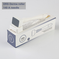 Derma Roller 140 Stainless Steel Needle  Skin Care tools Hair Loss Micro needle Therapy Adjustable Length Stamp Microneedle