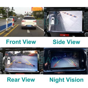 Image 4 - ZIQIAO Car Front Rear View Parking Camera Night Vision HD Side View Reversing Camera HSB012