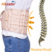 Alileader vente chaude taille Air décompression masseur taille masseur Traction masseur ceinture gonflable(China)