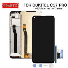 6.35 אינץ OUKITEL C17 PRO LCD תצוגה + מסך מגע Digitizer עצרת 100% מקורי חדש LCD + מגע Digitizer עבור OUKITEL C17 פרו