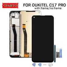 6 35 cal OUKITEL C17 PRO wyświetlacz LCD + ekran dotykowy Digitizer zgromadzenie 100 oryginalny nowy LCD + dotykowy Digitizer dla OUKITEL C17 PRO tanie tanio Pojemnościowy ekran 1520x720 for OUKITEL C17 PRO 6 35 inch for OUKITEL C17 PRO 1560x720 HD 6 35 inch Original for OUKITEL C17 PRO Dispaly Touch Screen