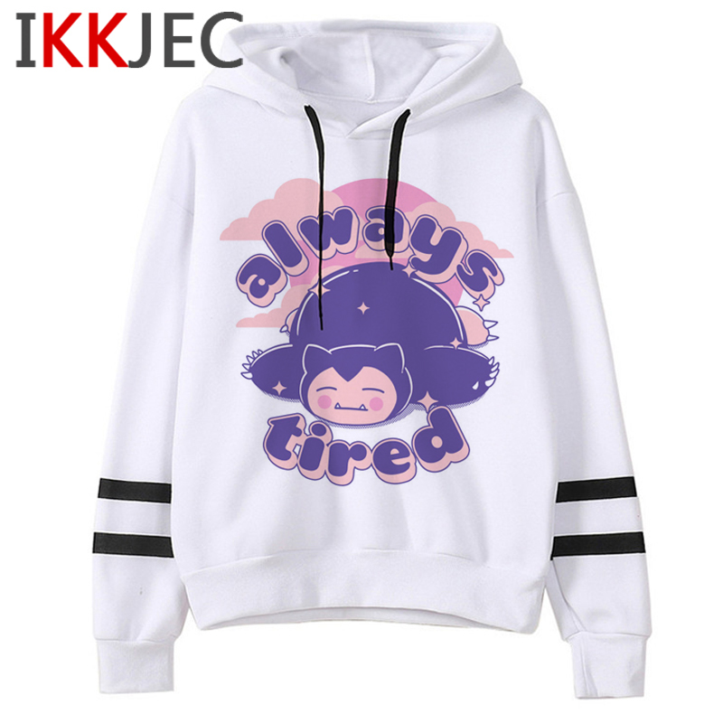 Pokemon Go Funny Cartoon Warm Hoodies Men/women Cute Pikachu Japanese Anime Sweatshirts Fashion 90s Steetwear Hoody Male/female 10