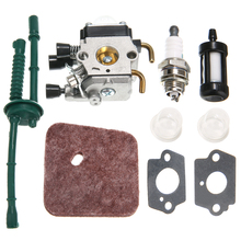 For FS38 FS45 FS46 FS55 KM55 FS85 Air Fuel Filter Gasket Carb Carburetor Fuel Supply System Accessories Mayitr цены онлайн