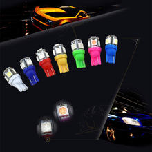 Светодиодная сигнальная лампа t10 w5w для салона автомобиля