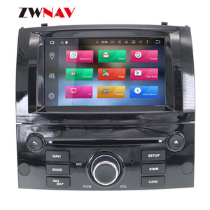 Image 2 - Android 10 DSP IPS HD Screen For Peugeot 407 2004 2005 2006 2007 2008 2009 2010 Car GPS Navi Radio Screen android Display Black