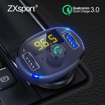 FM Transmitter Modulator Bluetooth Handsfree Car Kit Audio MP3 Player For Suzuki SX4 SWIFT Alto Liane Grand Vitara Jimny S-Cross image