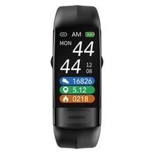 P11 умный Браслет Bluetooth фитнес-трекер IP67 водонепроницаемый измерение температуры спортивный браслет отслеживание здоровья