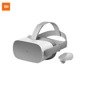 Xiaomi Super Player 3D VR Glasses AR All-in-One Wireless WIFI Helmet VR Games Handle 360 4K HD 3G+32/64G Panoramic Surround TV(China)