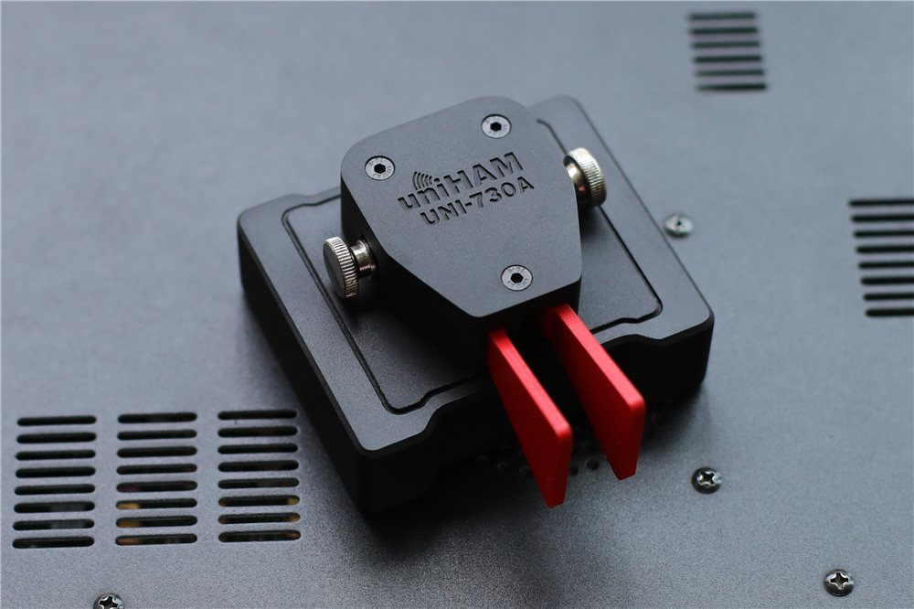 2019 UNI-730A Key Body Automatically Mini On The CW Morse Code Keyer Key For HAM Radio