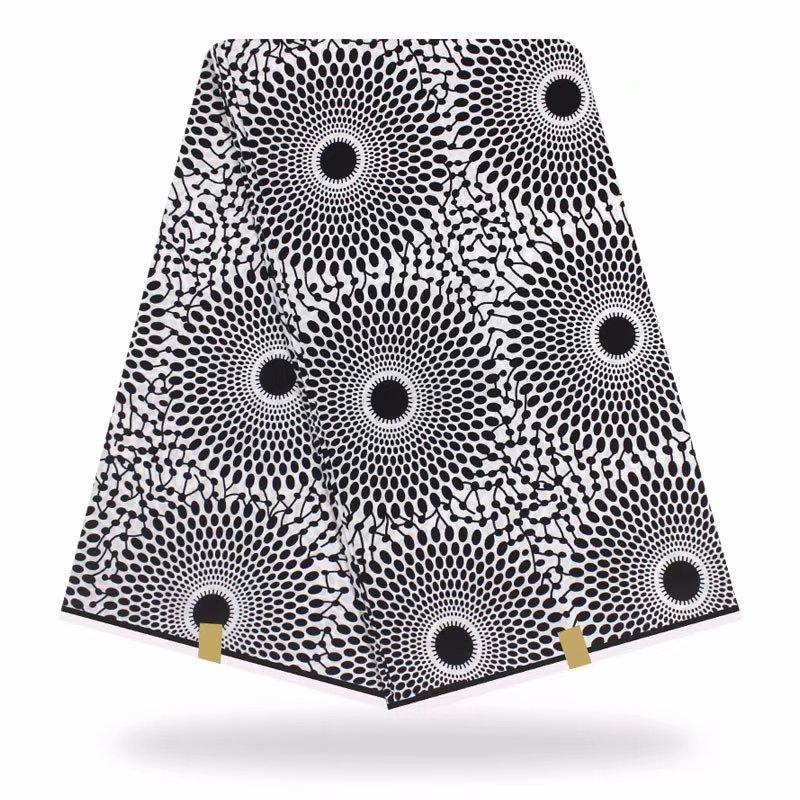 African Fabrix Wax Print Ankara Cotton Wax High Quality Pagne Hot Wax  6yards African Ankara Sewing Fabric