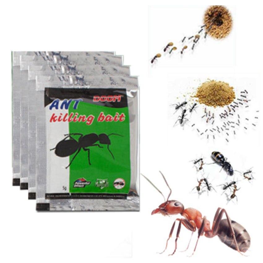 1Packs Green Leaf Powder Ant Killing Bait Ants Repellent Repeller Trap Killer Pest Control Destroy Ant Baits