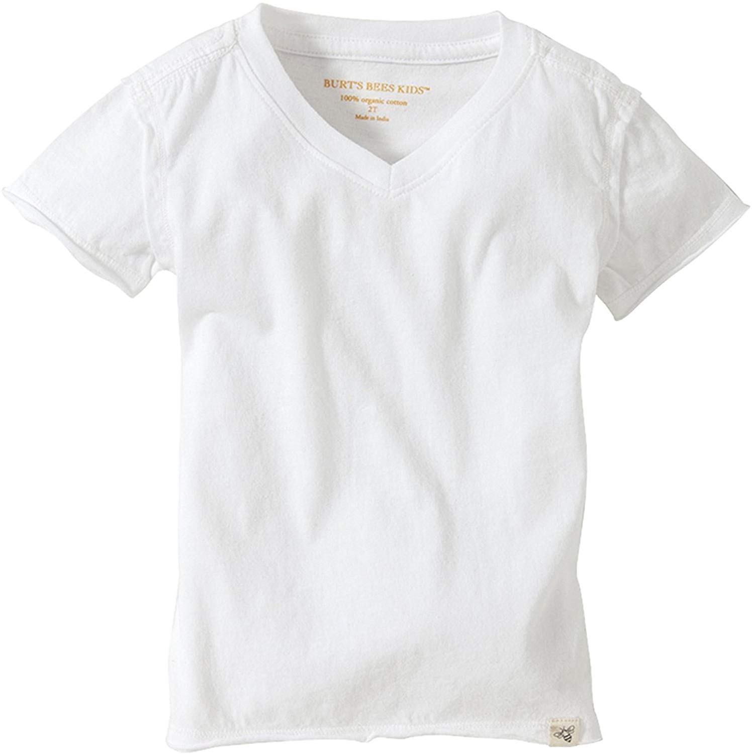 HT18206  Boys' T-Shirt, Short Sleeve V-Neck And Crewneck Tees, 100% Organic Cotton Short  Casual  Cotton  O-Neck