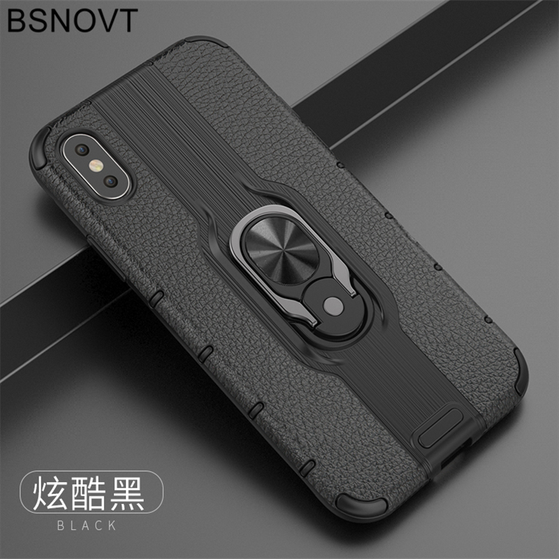 For Vivo Z5x Case V1911A V1919A TPU+PC Phone Finger Holder Hard Bumper Cover For Vivo Z5x Case For Vivo Z1 Pro Case 6.53