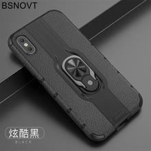 For Vivo Z5x Case V1911A V1919A TPU+PC Phone Finger Holder Bumper Cover Z1 Pro / 6.53 BSNOVT