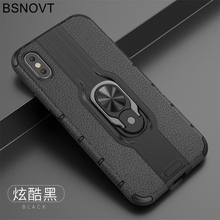 For Vivo Z5x Case V1911A V1919A TPU+PC Phone Finger Holder Hard Bumper Cover Z1 Pro 6.53 BSNOVT
