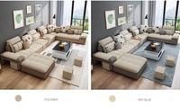 Personnalisé de haute qualité salon meubles salon canapé ensemble tissu canapé Canapés salle de séjour Meubles -