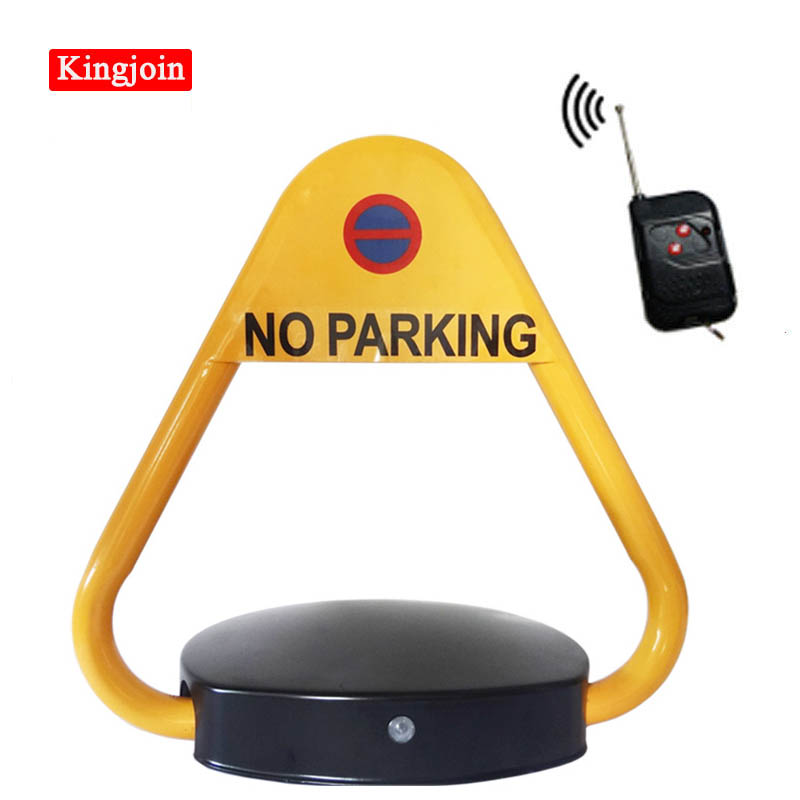Triangular Shape Electric Parking Lock Automatic Remote Control Waterproof VIP Park Car Barrier LOCK