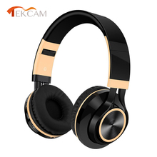 Sports Headsets Foldable Headphone Adjustable Earphones With Microphone Support TF Card MP3 Player Wireless Bluetooth Headphones цены