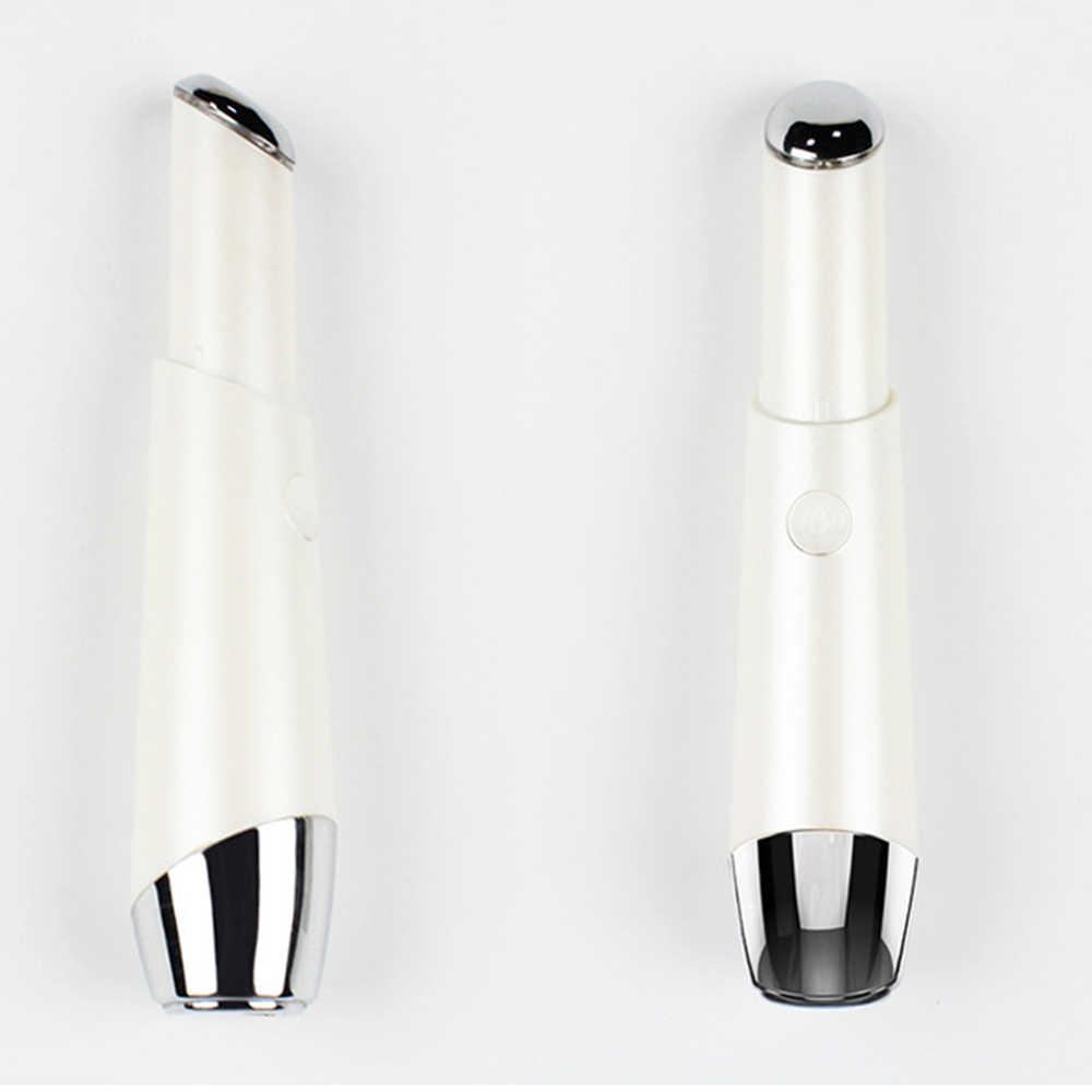 Electric Mini Eye Massage Device Pen Facials Vibration Thin Face Magic Stick Anti Bag Pouch & Wrinkle Beauty Eye Care Tool